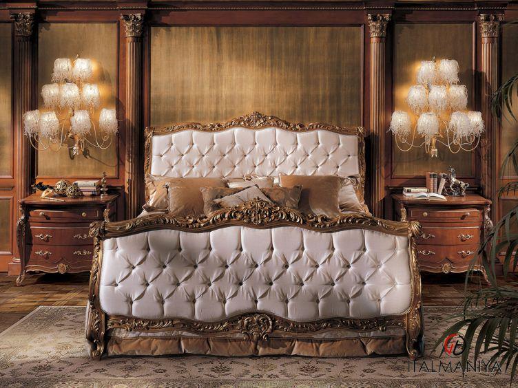 Фото 1 - Спальня ALBINONI фабрики Angelo Cappellini (производство Италия) в классическом стиле из массива дерева