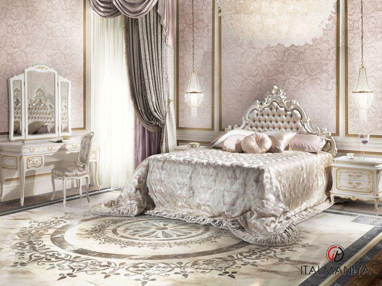 Фото 1 - Спальня ANFOSSI 100999 фабрики Angelo Cappellini (производство Италия) в классическом стиле из массива дерева