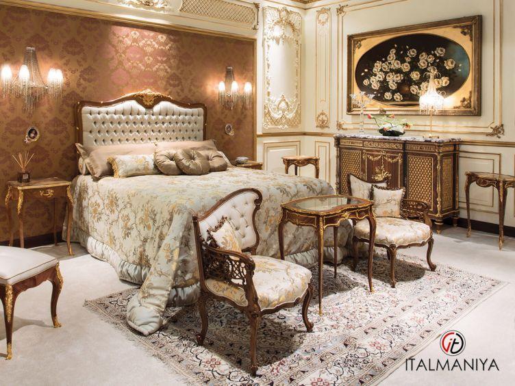 Фото 1 - Спальня ARCONATI фабрики Angelo Cappellini (производство Италия) в классическом стиле из массива дерева