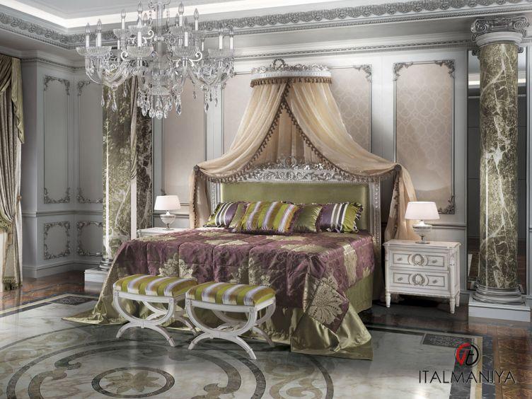 Фото 1 - Спальня Borodin фабрики Angelo Cappellini (производство Италия) в классическом стиле из массива дерева