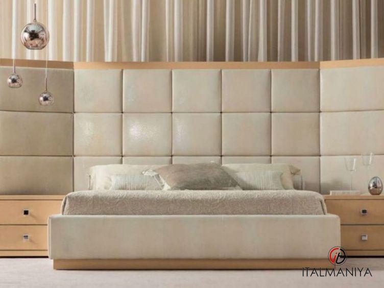 Фото 1 - Спальня Clarissa Calliope фабрики Angelo Cappellini (производство Италия) в современном стиле из массива дерева