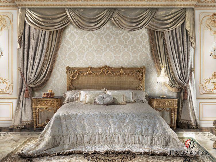 Фото 1 - Спальня Gabrieli фабрики Angelo Cappellini (производство Италия) в классическом стиле из массива дерева