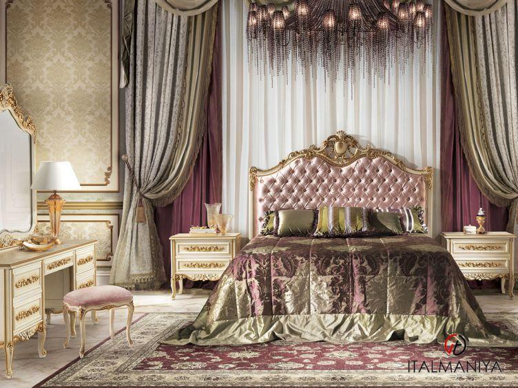 Фото 1 - Спальня LEONCAVALLO 101000 фабрики Angelo Cappellini (производство Италия) в классическом стиле из массива дерева
