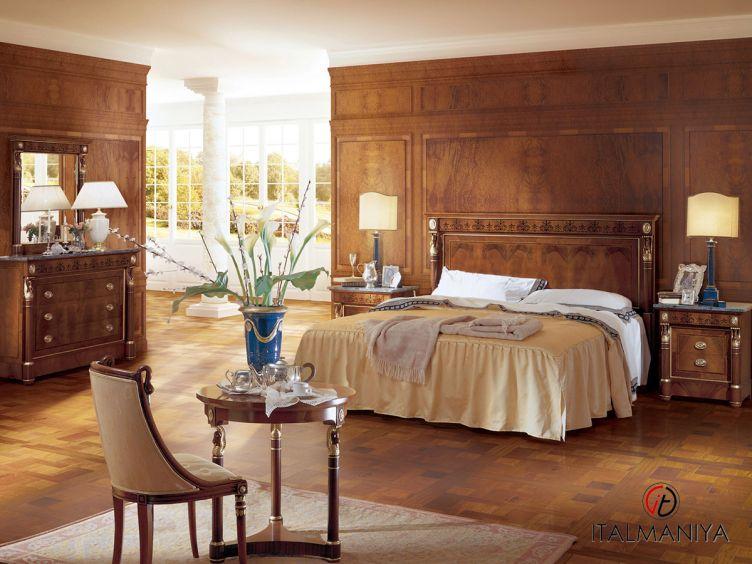 Фото 1 - Спальня PAGANINI фабрики Angelo Cappellini (производство Италия) в классическом стиле из массива дерева