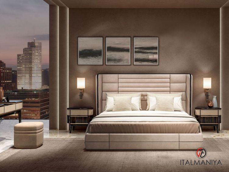 Фото 1 - Спальня Atelier фабрики Antonelli Moravio (производство Италия) в стиле арт-деко из массива дерева