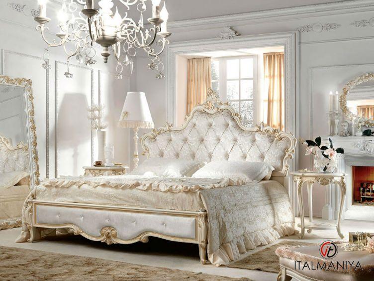 Фото 1 - Спальня BELVEDERE Florence 101002 фабрики Antonelli Moravio (производство Италия) в стиле арт-деко из массива дерева
