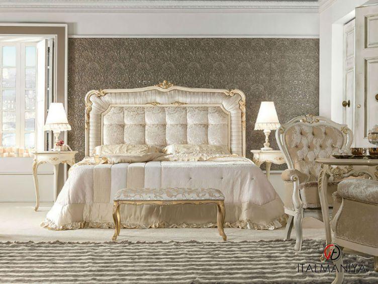 Фото 1 - Спальня Belvedere Afrodite фабрики Antonelli Moravio (производство Италия) в стиле арт-деко из массива дерева