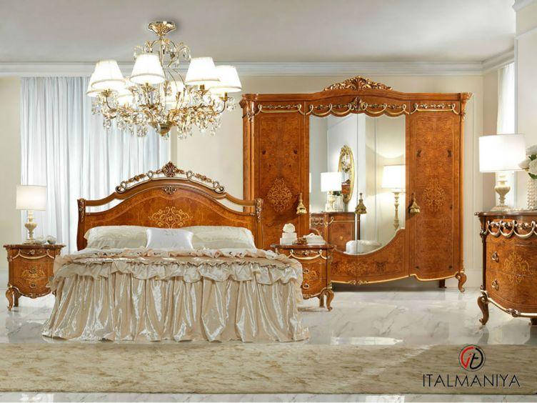 Фото 1 - Спальня Charme фабрики Antonelli Moravio (производство Италия) в классическом стиле из массива дерева