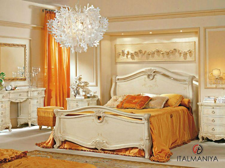 Фото 1 - Спальня Isabella фабрики Antonelli Moravio (производство Италия) в классическом стиле из массива дерева