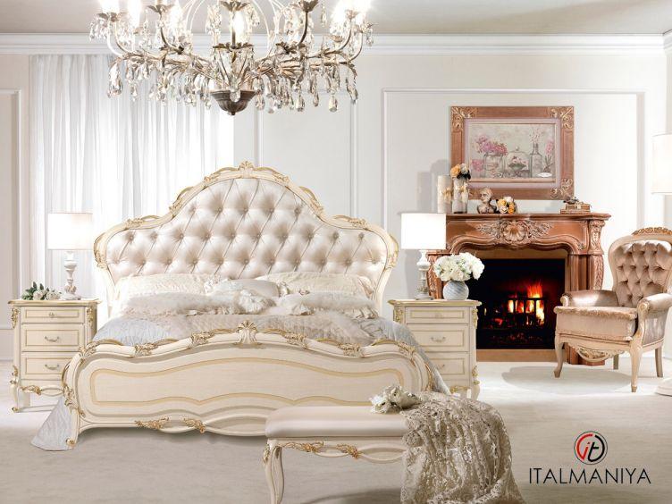 Фото 1 - Спальня Signoria фабрики Antonelli Moravio (производство Италия) в классическом стиле из массива дерева