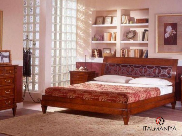 Фото 1 - Спальня Corte Ricca фабрики Arca (производство Италия) в классическом стиле из массива дерева