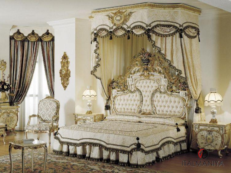 Фото 1 - Спальня Osiride фабрики Asnaghi Interiors (производство Италия) в классическом стиле из массива дерева