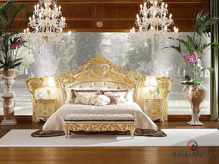 Фото 1 - Спальня J'adore фабрики Bacci Stile (производство Италия) в классическом стиле из массива дерева
