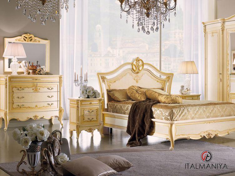 Фото 1 - Спальня Palladio фабрики Bacci Stile (производство Италия) в классическом стиле из массива дерева