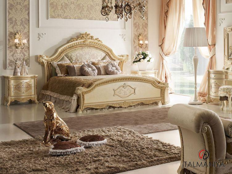 Фото 1 - Спальня Premiere фабрики Bacci Stile (производство Италия) в классическом стиле из массива дерева