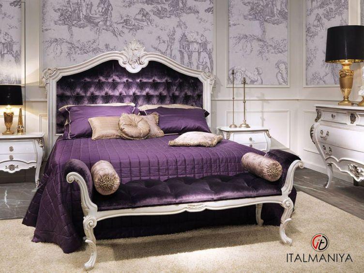 Фото 1 - Спальня Asolo фабрики Bamax (производство Италия) в классическом стиле из массива дерева