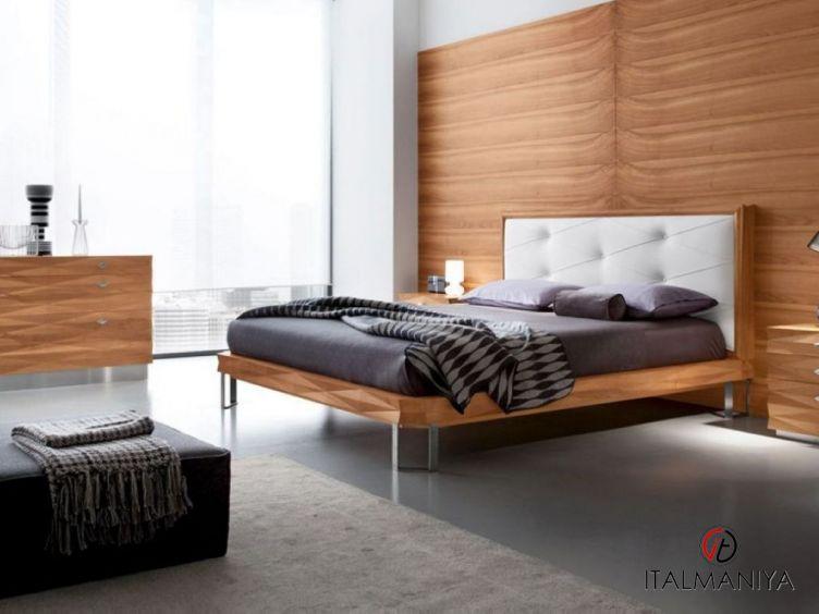 Фото 1 - Спальня Diamante фабрики Bamax (производство Италия) в современном стиле из массива дерева