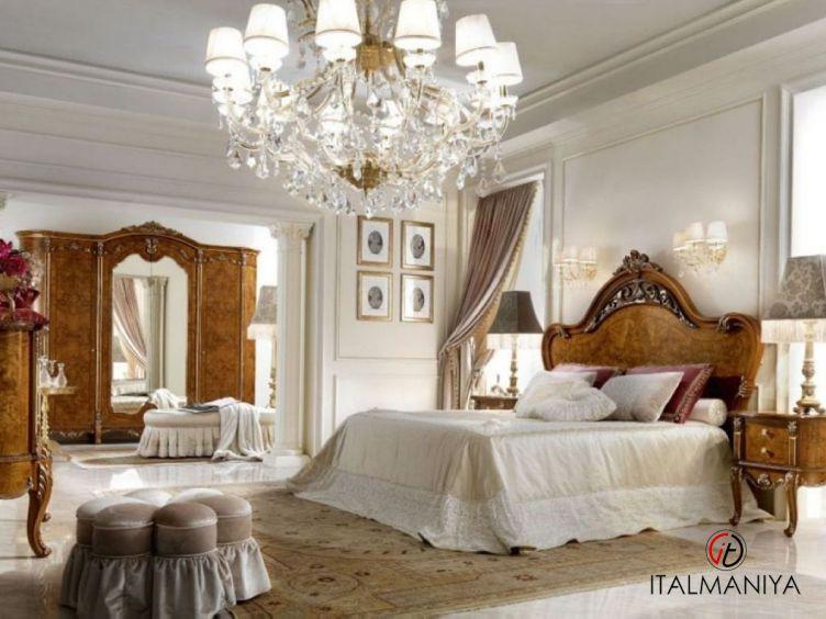 Фото 1 - Спальня David фабрики Barnini Oseo (производство Италия) в классическом стиле из массива дерева