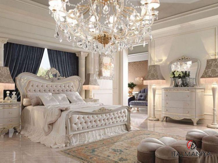 Фото 1 - Спальня Diamante фабрики Barnini Oseo (производство Италия) в классическом стиле из массива дерева