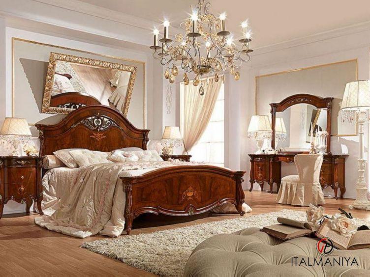 Фото 1 - Спальня Prestige фабрики Barnini Oseo (производство Италия) в классическом стиле из массива дерева
