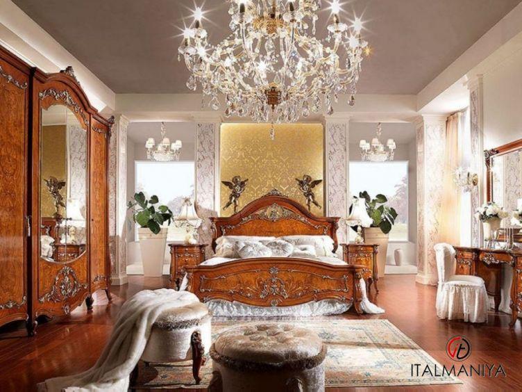 Фото 1 - Спальня Prestige Plus фабрики Barnini Oseo (производство Италия) в классическом стиле из массива дерева