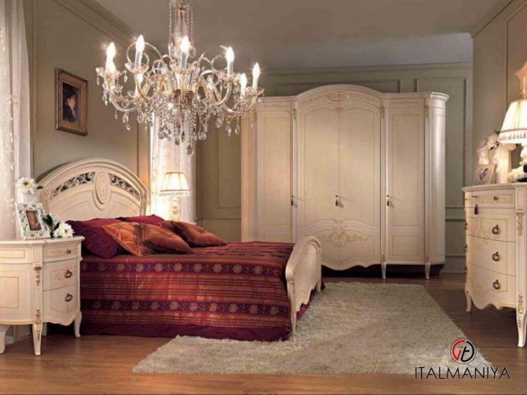 Фото 1 - Спальня Reggenza фабрики Barnini Oseo (производство Италия) в классическом стиле из массива дерева