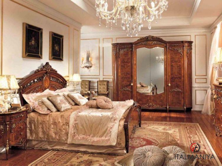 Фото 1 - Спальня Reggenza Luxury фабрики Barnini Oseo (производство Италия) в классическом стиле из массива дерева