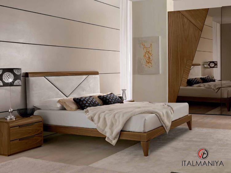 Фото 1 - Спальня Butterfly фабрики Benedetti (производство Италия) в современном стиле из массива дерева