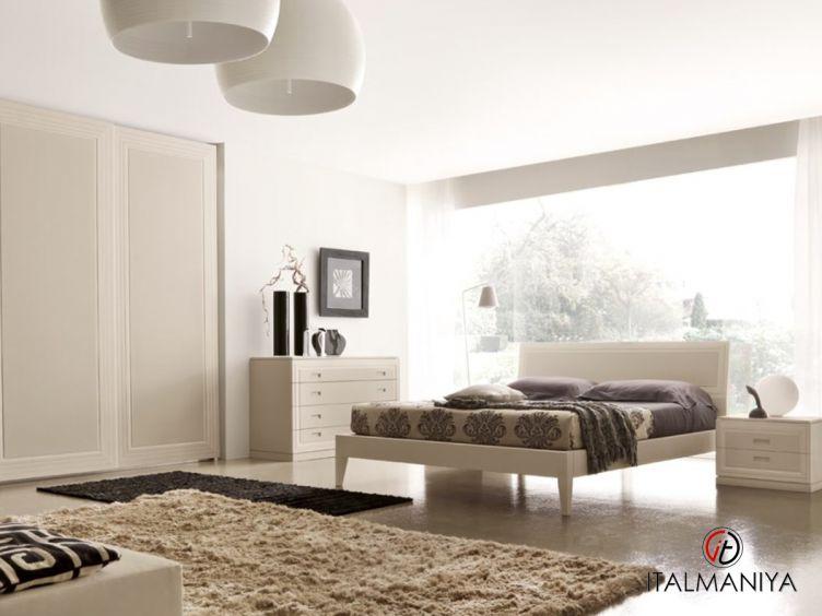 Фото 1 - Спальня Sentieri фабрики Benedetti (производство Италия) в современном стиле из массива дерева