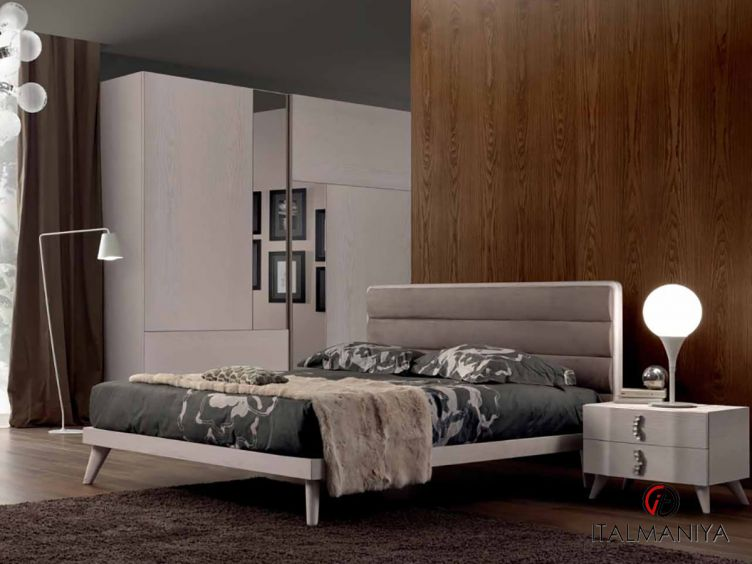 Фото 1 - Спальня Tesla фабрики Benedetti (производство Италия) в современном стиле из массива дерева