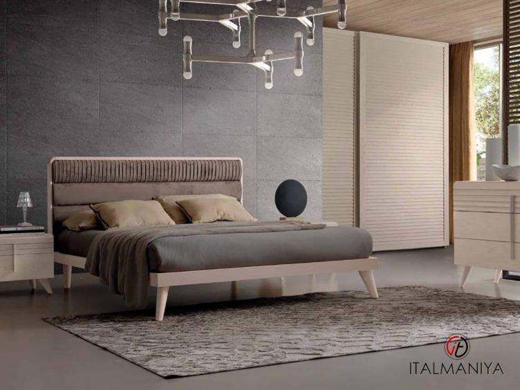 Фото 1 - Спальня Versilia фабрики Benedetti (производство Италия) в современном стиле из массива дерева