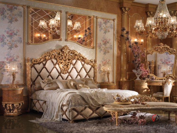 Фото 1 - Спальня Lady D фабрики Bitossi (производство Италия) в классическом стиле из массива дерева