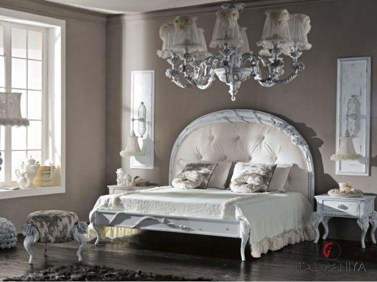 Фото 1 - Спальня композиция 316 Mon Amour фабрики Bitossi (производство Италия) в классическом стиле из массива дерева