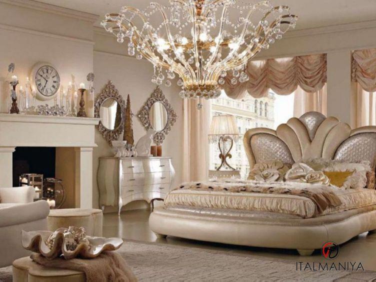 Фото 1 - Спальня Florence фабрики Bm Style (производство Италия) в классическом стиле из массива дерева