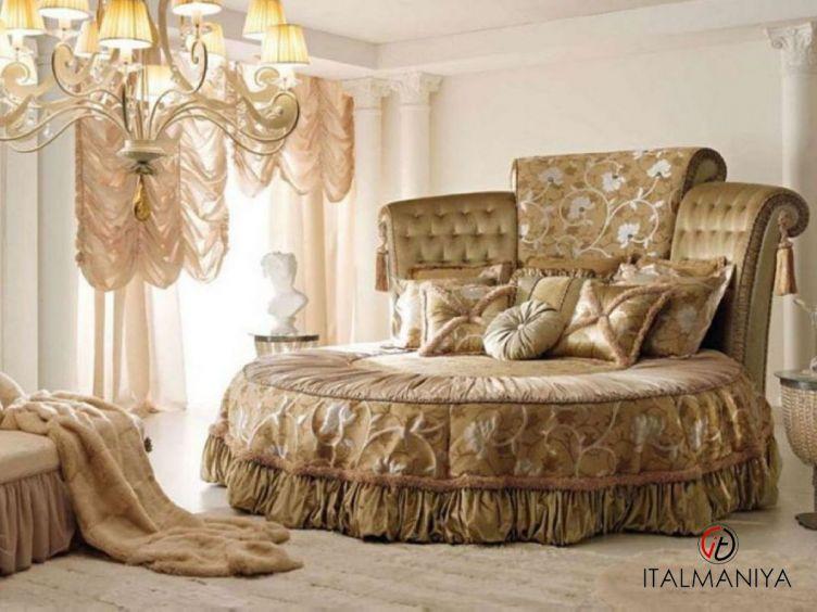 Фото 1 - Спальня Queen фабрики Bm Style (производство Италия) в классическом стиле из массива дерева
