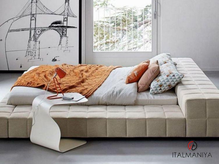 Фото 1 - Спальня Squaring фабрики Bonaldo (производство Италия) в современном стиле из массива дерева