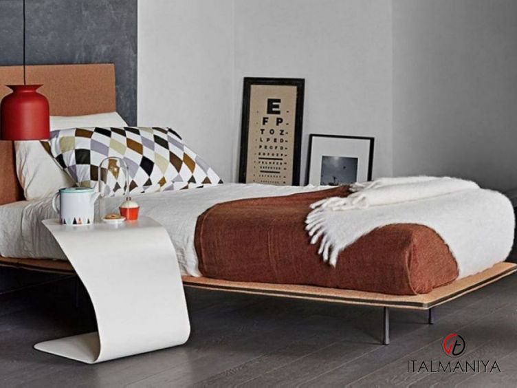Фото 1 - Спальня Thin фабрики Bonaldo (производство Италия) в стиле лофт из массива дерева