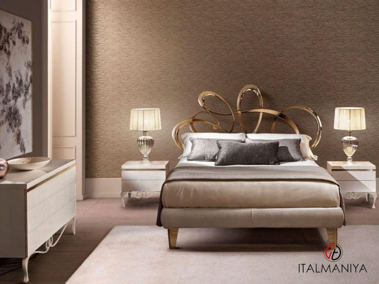 Фото 1 - Спальня Dolcevita фабрики Cantori (производство Италия) в современном стиле из металла