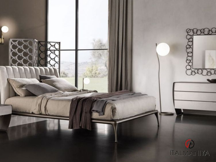 Фото 1 - Спальня Iseo фабрики Cantori (производство Италия) в современном стиле из металла