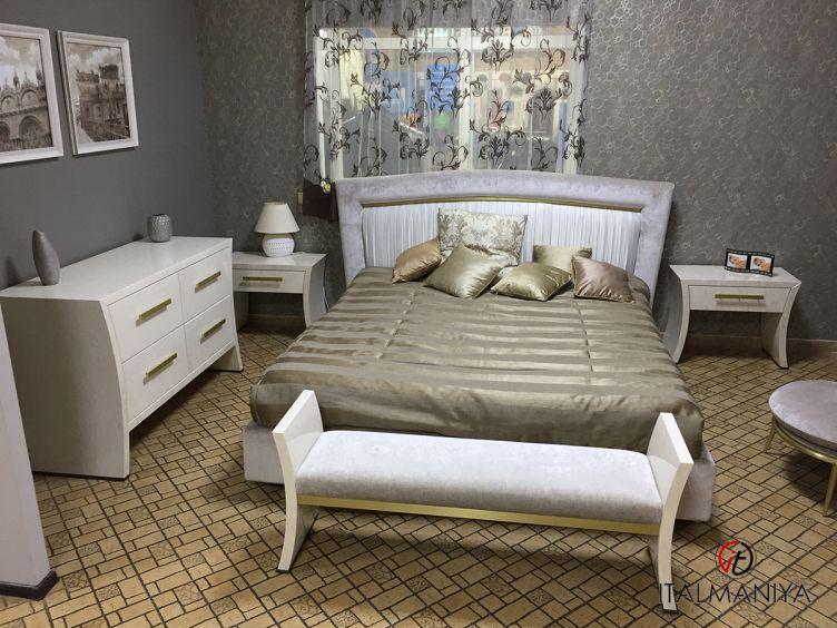 Фото 1 - Спальня Portofino Plisse фабрики Cantori (производство Италия) в современном стиле из массива дерева