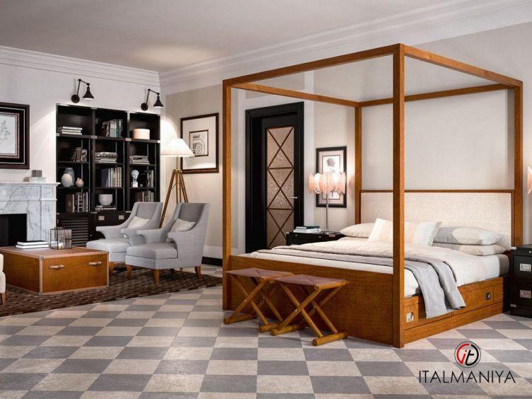 Фото 1 - Спальня Masterbedroom фабрики Caroti (производство Италия) в современном стиле из массива дерева
