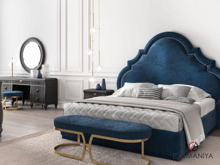Фото 1 - Спальня Beverly Hills фабрики Carpanese (производство Италия) в современном стиле из массива дерева