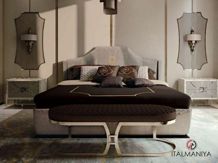 Фото 1 - Спальня House Of Arts Glamour фабрики Carpanese (производство Италия) в современном стиле из массива дерева
