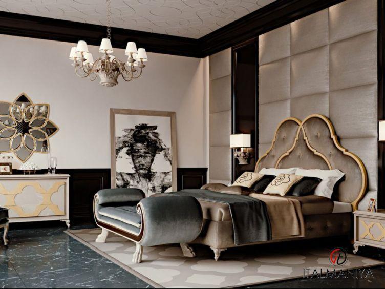 Фото 1 - Спальня New York фабрики Carpanese (производство Италия) в стиле арт-деко из массива дерева