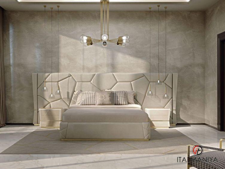 Фото 1 - Спальня San Francisco фабрики Carpanese (производство Италия) в современном стиле из массива дерева