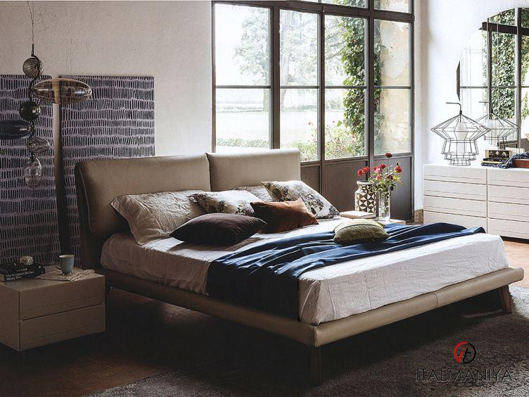 Фото 1 - Спальня Book 5 фабрики Cattelan Italia (производство Италия) в современном стиле из массива дерева