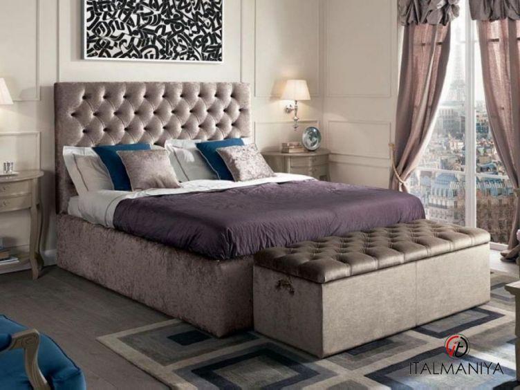 Фото 1 - Спальня Francesca Home фабрики Cavio (производство Италия) в классическом стиле из массива дерева