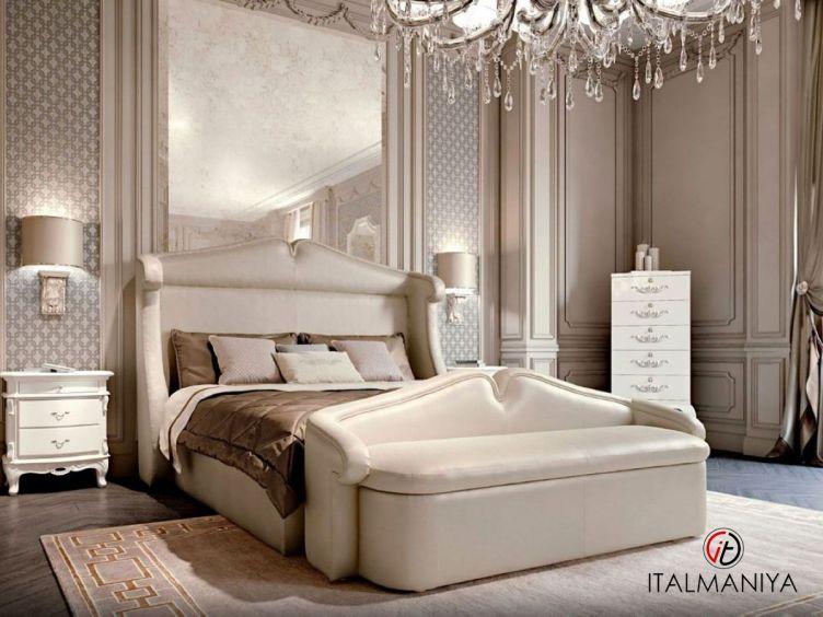 Фото 1 - Спальня Villa фабрики Cavio (производство Италия) в стиле арт-деко из массива дерева