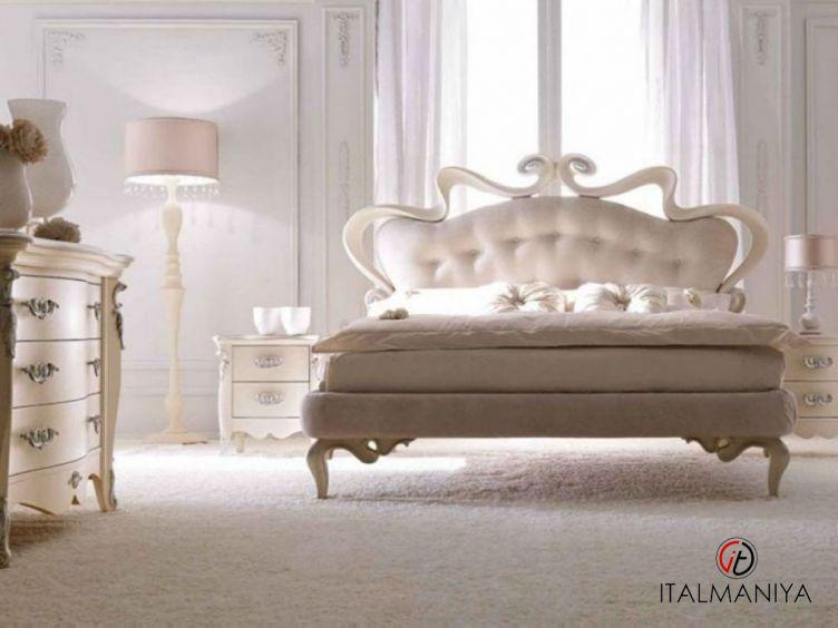 Фото 1 - Спальня Melissa фабрики Corte Zari (производство Италия) в классическом стиле из массива дерева