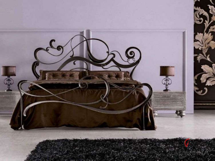 Фото 1 - Спальня Safira фабрики Corte Zari (производство Италия) в классическом стиле из массива дерева